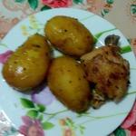 Картошка с курицей в скороварке