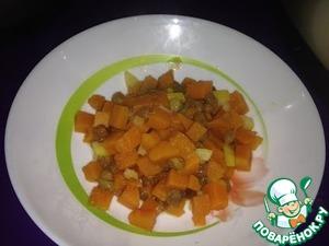 Как готовить Цитрусовая тыква домашний пошаговый рецепт с фото