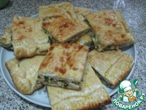 Рецепт Вкусный сытный пирог со сборной начинкой