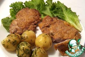 Как готовить Отбивные куриные из бедра рецепт приготовления с фото пошагово