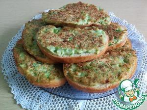 Рецепт Кабачковые бутерброды