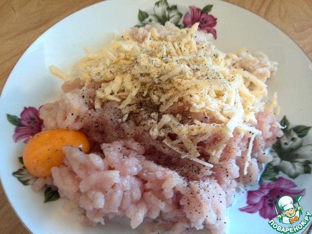 Вкусные курино-сырные котлетки рецепт с фото пошагово как готовить #4