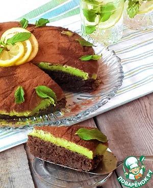"""Рецепт Йогуртовый торт """"Мятный мокко"""""""