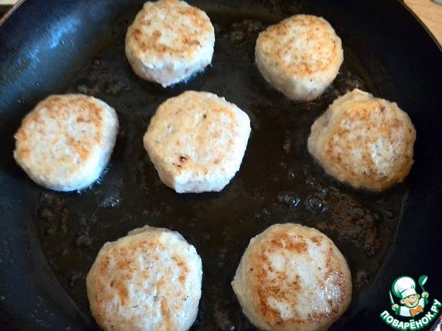 Вкусные курино-сырные котлетки рецепт с фото пошагово как готовить #7