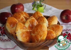 Рецепт Быстрые пирожки с яблоками