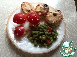 Рецепт Вкусные курино-сырные котлетки