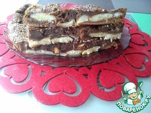 """Рецепт Десерт """"Шоколадные бананы"""""""