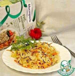 Рецепт Ананасово-овощной рис