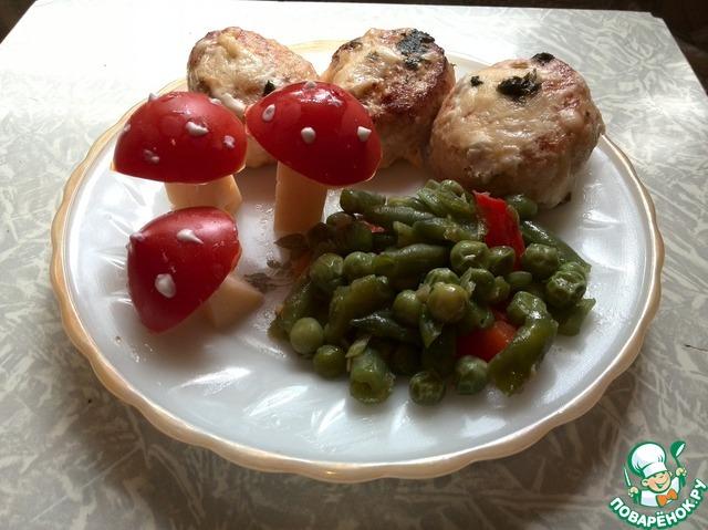 Вкусные курино-сырные котлетки рецепт с фото пошагово как готовить #11