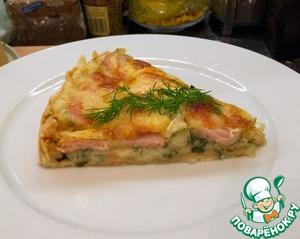 Рецепт Мужской пирог с сардельками