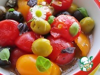 Расплющенный салат ингредиенты