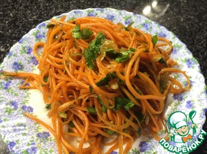 Рецепт Морковча по-корейски