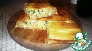 Рецепт Пирог с минтаем