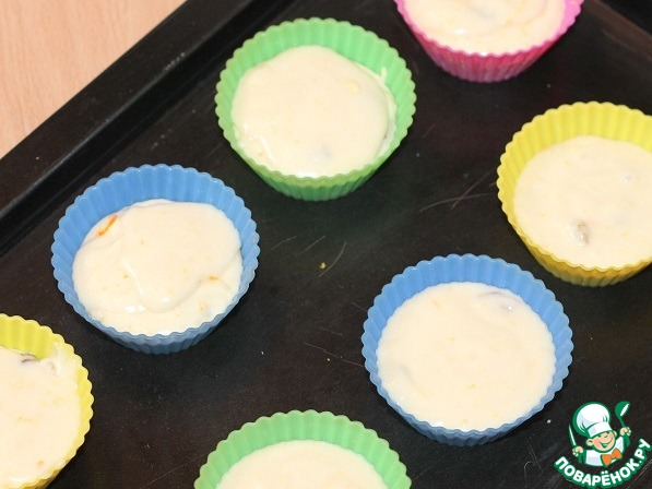 Маффины с кремом рецепт с фото пошагово