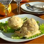 Сладкие груши в пряном соусе