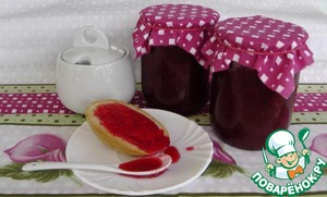 Рецепт Клубничное варенье с ванилью