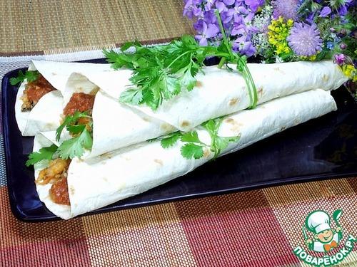 Рецепты кулечков из лаваша