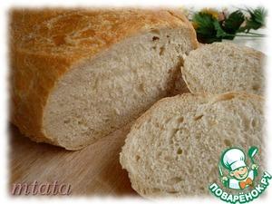 Рецепт Батон пшеничный на дрожжевой закваске