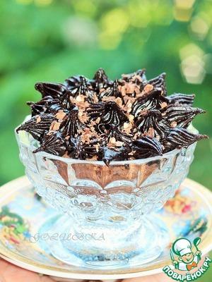 Рецепт Шоколадные капкейки с халвой