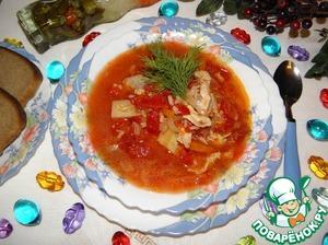 """Куриный суп """"Приглашаем на обед!"""""""