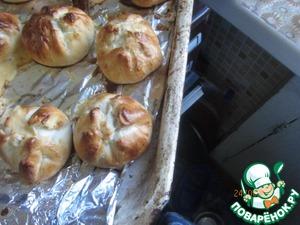 Рецепт Пирожки типа бомбочки