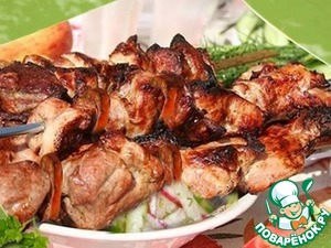 Рецепт Шашлык из свиной шеи