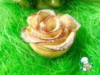 """Слойки """"Яблочные розы"""" ингредиенты"""