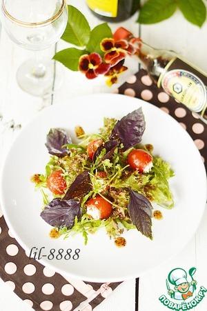 Рецепт Салат с фаршированными помидорами