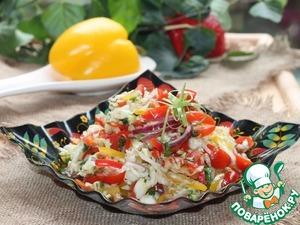 Салат из свежей капусты с семечками вкусный рецепт с фотографиями готовим