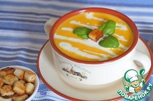 Рецепт Морковно-тыквенный суп-пюре