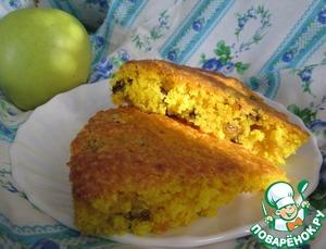 Рецепт Постный лимонный кекс с изюмом