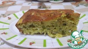 Рецепт Луковый пирог с беконом