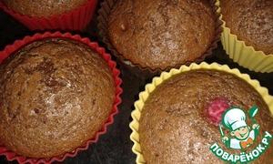 Рецепт Шоколадные кексы из кукурузной муки