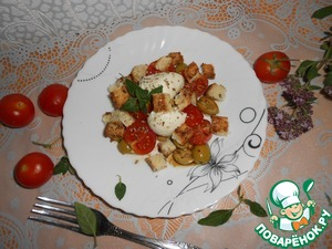 Рецепт Быстрый пикантный салат