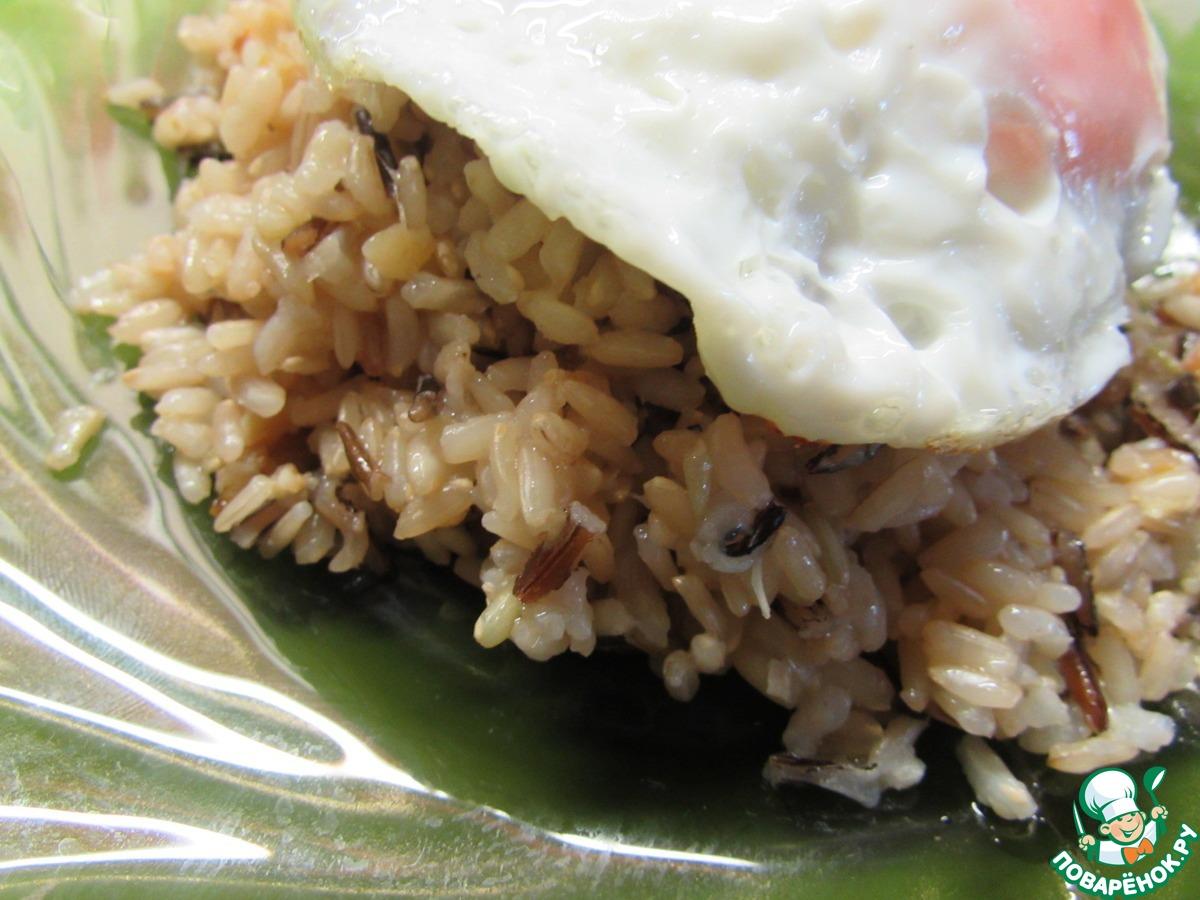 Рис с яйцом по китайски пошаговый фото рецепт