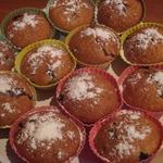Кексы с ягодной начинкой