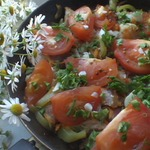 Мясо по-абхазски с овощами