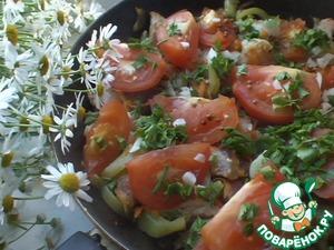 Рецепт Мясо по-абхазски с овощами