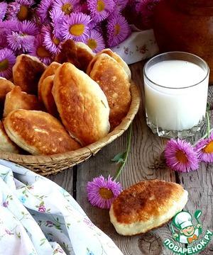 Рецепт Жареные пирожки с ливером и картошкой