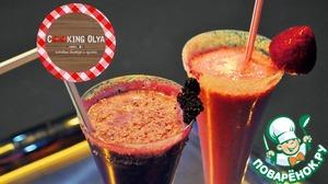 Рецепт Молочный коктейль из черники и шелковицы