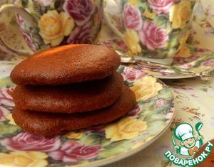 Рецепт Бананово-карамельное печенье