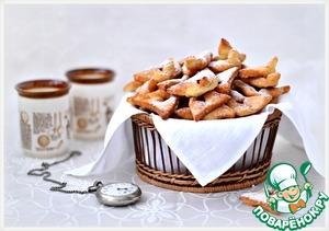 Рецепт Хворост-ушки от Ги Жедда