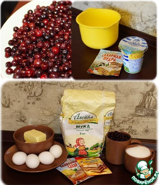 Любимый брусничный пирог - Простые рецепты Овкусе.ру