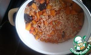 Рецепт Плов вегетарианский с черносливом