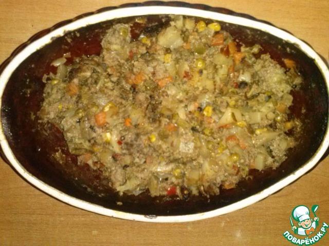 Блюда с фаршем в горшочках в духовке рецепты с пошагово