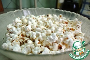 Рецепт Домашний попкорн