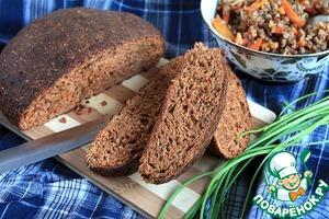Рецепт Хлеб отрубной с консервированными томатами