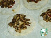 Дим-сам, паровые булочки с грибами ингредиенты
