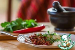 Как приготовить простой рецепт приготовления с фотографиями Чили кон карне