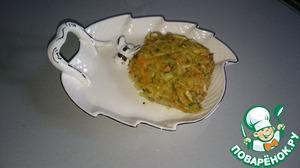 Рецепт Постная запеканка из кабачка и картофеля